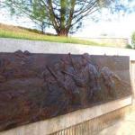 Bronze Relief at Asan Bay Overlook (NPS Photo)
