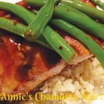 Hoisin Honey Glazed Salmon. Photo courtesy of Annie's Chamorro Kitchen