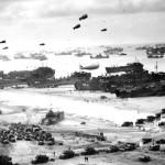 Barrage balloons, which were manned by the 320th Barrage Balloon Battalion, were a vital part of protecting Allied forces from German aircraft on D-Day. (Army Signal Corps file photo)