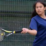 American School In Japan senior doubles player Erin Chang has been named Stars and Stripes' Pacific girls tennis Athlete of the Year. DAVE ORNAUER/STARS AND STRIPES