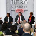 "ABC News correspondent Deborah Roberts addresses the Hero Summit 2012 ""The Other Side of Sacrifice: Military Families"" panel in Washington, D.C., Nov. 15, 2012."