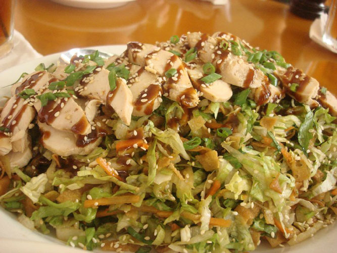 California Pizza Kitchen Chinese Chicken Salad Full